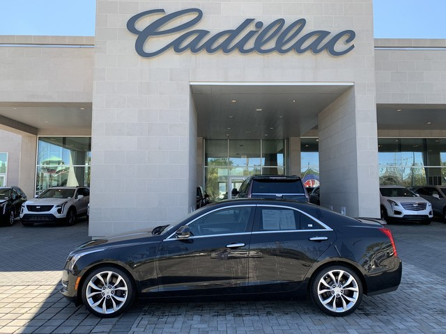 Certified Pre-Owned 2015 Cadillac ATS Sedan Luxury RWD