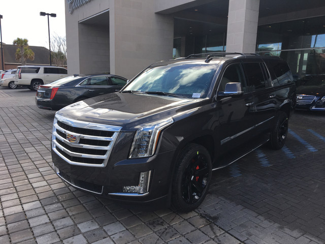 New 2018 Cadillac Escalade Esv Premium Luxury Sport Utility In