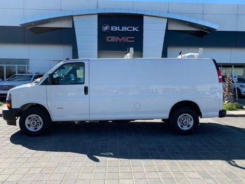 New 2019 GMC Savana Cargo Van
